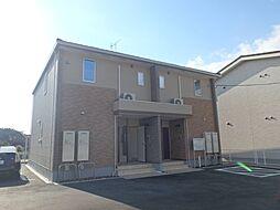愛知県西尾市楠村町山崎の賃貸アパートの外観