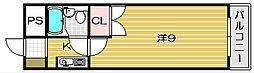 SOLO南茨木[110号室]の間取り