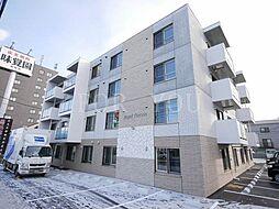 北海道札幌市西区西野三条2丁目の賃貸マンションの外観