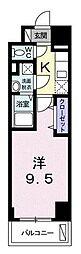 神奈川県横浜市南区二葉町2丁目の賃貸マンションの間取り