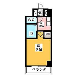 ステュディオ仙台[5階]の間取り