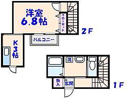 東中山フォーラムI[201号室]の間取り