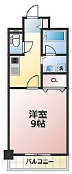 セレッソコート新大阪[2階]の間取り