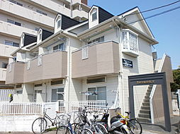 埼玉県所沢市青葉台の賃貸アパートの外観