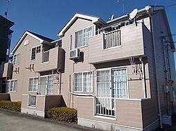 愛知県清須市西市場4の賃貸アパートの外観