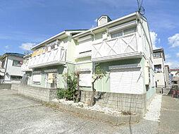 兵庫県神戸市垂水区福田1の賃貸アパートの外観