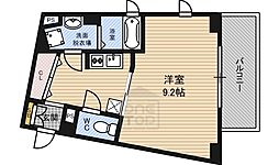 Osaka Metro長堀鶴見緑地線 蒲生四丁目駅 徒歩1分の賃貸マンション 3階1Kの間取り