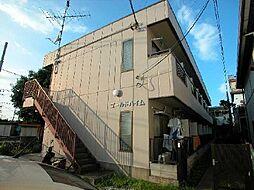 東京都調布市菊野台3丁目の賃貸マンションの外観