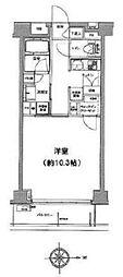 クリオ蒲田II bt[104kk号室]の間取り