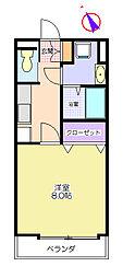 プランドール一番館[3階]の間取り