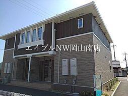 JR赤穂線 西大寺駅 徒歩22分の賃貸アパート