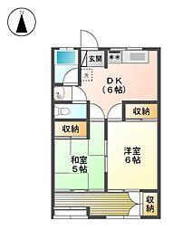 マンション大曽根[8階]の間取り