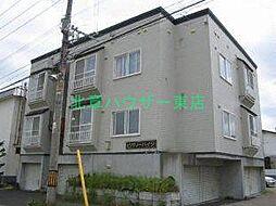 北海道札幌市東区北三十六条東28丁目の賃貸アパートの外観