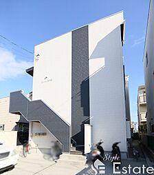 愛知県名古屋市西区新福寺町1丁目の賃貸アパートの外観