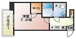 セレニテ日本橋エスト[6階]の間取り