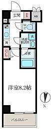S-RESIDENCE 押上パークサイド[4階]の間取り