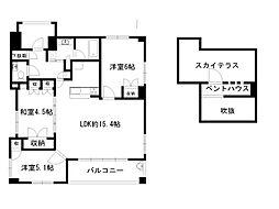 ファインフラッツ京都室町[10階]の間取り