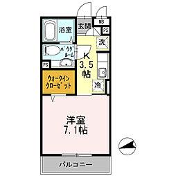 戸塚区上倉田町 ラマージュV303[3階]の間取り