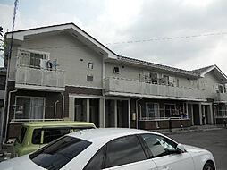 愛媛県松山市竹原4丁目の賃貸アパートの外観
