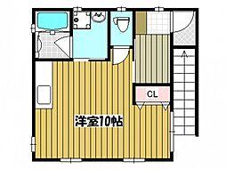 Nハウス[2階]の間取り