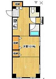 メルヴェイユ湘南[2階]の間取り