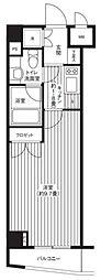 グランハイツ東新宿[4階]の間取り