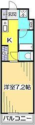 アメニティコウヤマ第15ガーデン[2階]の間取り