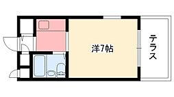 ダイドーメゾン甲子園II[1階]の間取り