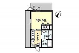 OYO LIFE #1241 Casa・GrachiaHigashiikebukuro 1階1Kの間取り