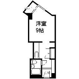 平岸パークマンション[220号室]の間取り