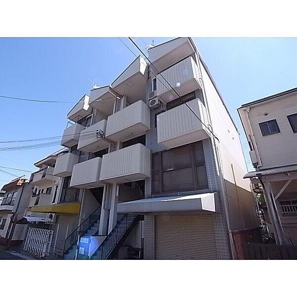 奈良県生駒市東生駒2丁目の賃貸マンションの外観