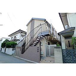 東京都世田谷区奥沢1丁目の賃貸アパートの外観