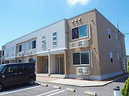 富山県富山市下堀の賃貸アパートの外観