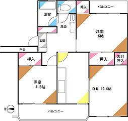 シブヤ本郷マンション[205号室]の間取り
