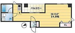 リラシオン[6階]の間取り