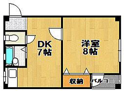 HOUSE SHINGAI[4階]の間取り