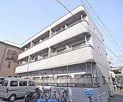 京都府京都市左京区吉田中阿達町の賃貸マンションの外観