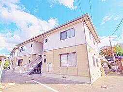 広島県安芸郡熊野町萩原2の賃貸アパートの外観