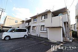 愛知県岡崎市薮田2丁目の賃貸アパートの外観