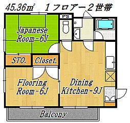 コーポアイダ[3階]の間取り