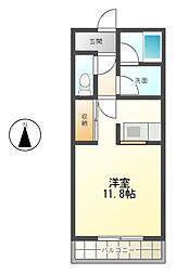 AKSハイツ[3階]の間取り