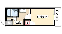 愛知県日進市浅田平子3丁目の賃貸アパートの間取り