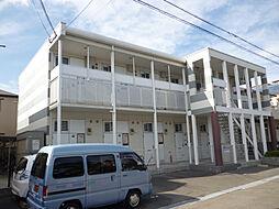 兵庫県西宮市甲子園九番町の賃貸アパートの外観