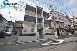 リーヴェルLeco神奈川新町[102号室]の外観