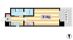 兵庫県神戸市兵庫区七宮町1丁目の賃貸マンションの間取り