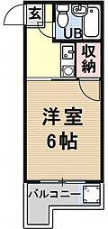 パサージュI(パサージュアイ)[301号室号室]の間取り
