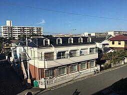 神奈川県平塚市虹ケ浜の賃貸アパートの外観