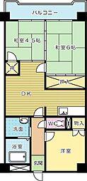 第1三共ビル[3階]の間取り