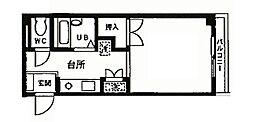 モデーロ花栗[1階]の間取り