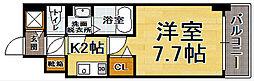福岡県福岡市中央区薬院4の賃貸マンションの間取り